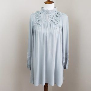 Hayden Floral Lace Tunic Dress NWT Size Small